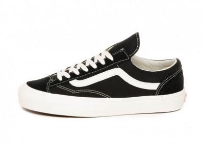 Кеды Vans OG Style 36 LX (Black / Marshmallow)