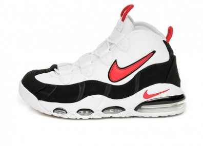 Кроссовки Nike Air Max Uptempo '95 (White / University Red - Black)