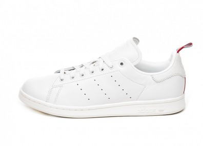 Кроссовки adidas Stan Smith (Crystal White / Ftwr White / Scarlet)