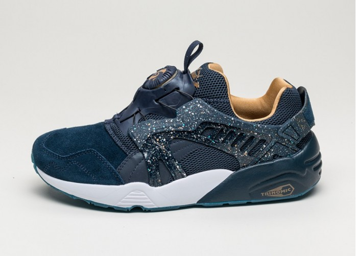 Мужские кроссовки Puma X Atmos Disc Blaze *Venus* (Dress Blues) | Интернет-магазин Sole