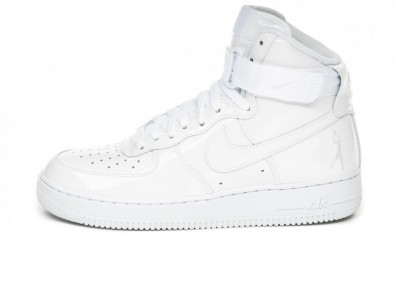 Кроссовки Nike Air Force 1 High Retro QS *Sheed* (White / White - White)