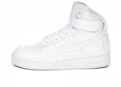 Кроссовки Nike Air Force 1 High Retro QS *Sheed* (White / White - White)