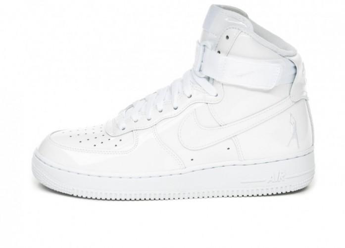 Кроссовки Nike Air Force 1 High Retro QS *Sheed* (White / White - White) | Интернет-магазин Sole