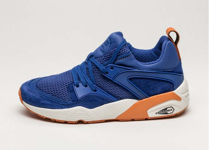 Мужские кроссовки Puma Blaze of Glory NYK (Mazarine Blue) | Интернет-магазин Sole