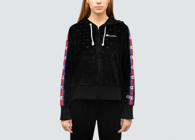 Штаны женские Champion Velour Pack - Black