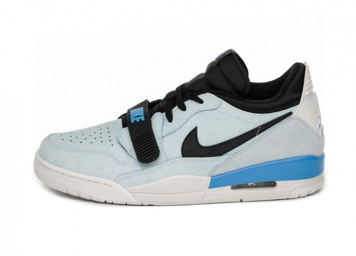 Air Jordan Legacy 312 Low (Pale Blue / University Blue - Black - Sail) | Интернет-магазин Sole