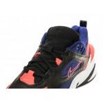 Nike M2K Tekno (Black / Deep Royal Blue - Bright Crimson), фото 4 | Интернет-магазин Sole