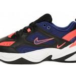 Nike M2K Tekno (Black / Deep Royal Blue - Bright Crimson), фото 5 | Интернет-магазин Sole