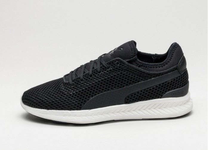 Мужские кроссовки Puma Ignite Sock Knit (Puma Black / Puma White) | Интернет-магазин Sole