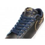 Мужские кроссовки Nike SB Blazer Low GT *NBA* (Black / Black - Amarillo - Coast), фото 4 | Интернет-магазин Sole