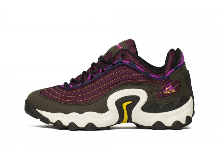 Nike Air Skarn - Sequoia/ Vivid Purple-Bright Citron | Интернет-магазин Sole