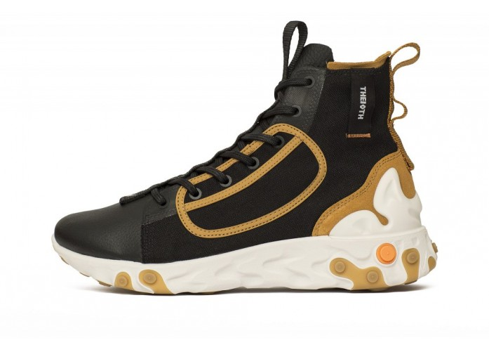 Nike React Ianga - Black/White-Wheat-Phantom | Интернет-магазин Sole
