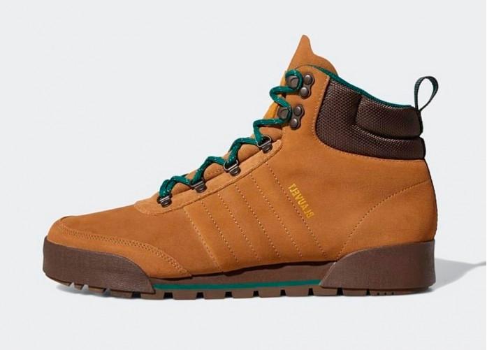 adidas Jake Boots 2.0 - Raw Desert / Brown / Collegiate Green | Интернет-магазин Sole