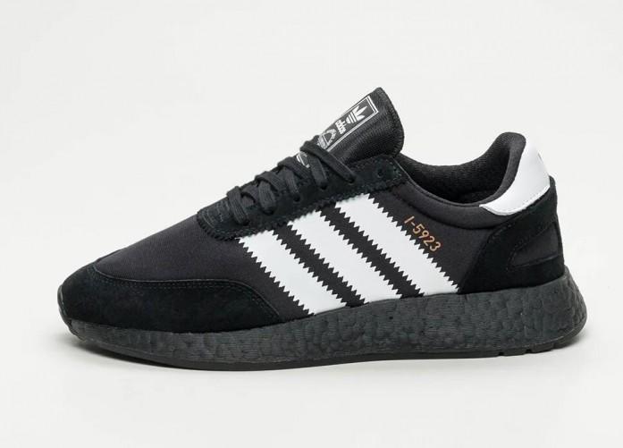 adidas I-5923 - Core Black / Ftwr White / Copper Metallic | Интернет-магазин Sole
