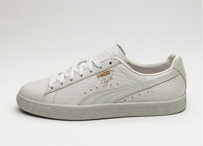 Мужские кроссовки Puma Clyde Dressed (Whisper White) | Интернет-магазин Sole