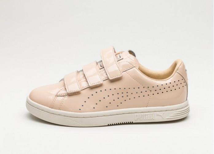 Мужские кроссовки Puma Court Star Velcro (Nude / Natural Vachetta - Whisper White) | Интернет-магазин Sole