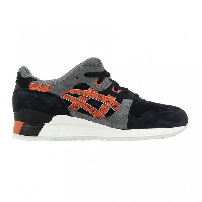 Мужские кроссовки Asics Gel Lyte III - Black/Chilli | Интернет-магазин Sole