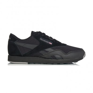 Мужские кроссовки Reebok Classic Nylon Tech Mix - Black