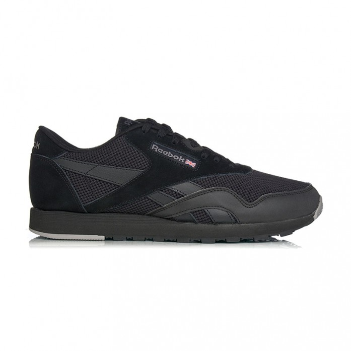 Мужские кроссовки Reebok Classic Nylon Tech Mix - Black | Интернет-магазин Sole