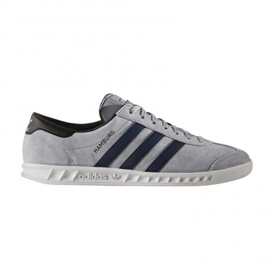 Мужские кроссовки adidas Originals Hamburg - Grey/Navy/White