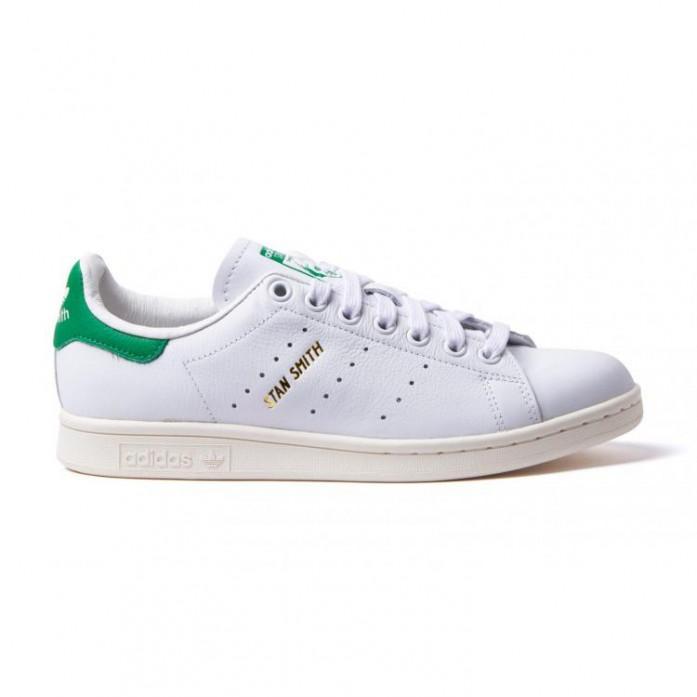 Мужские кроссовки adidas Originals Stan Smith - Running White/Running White/Green | Интернет-магазин Sole