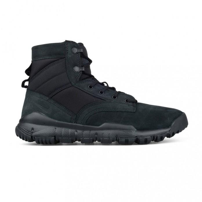 Мужские ботинки Nike SFB Special Field Boot 6 NSW Leather - Black | Интернет-магазин Sole