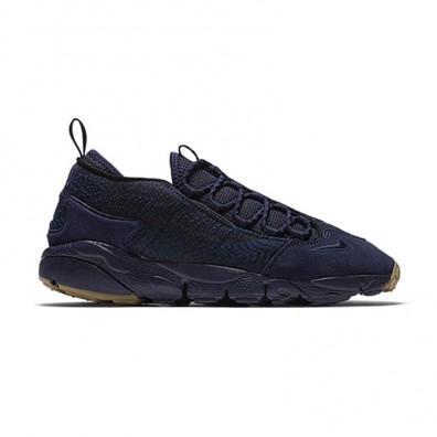 Мужские кроссовки Nike Air Footscape NM Premium Jacquard - Indigo/Obsidian/Gum Dark Brown