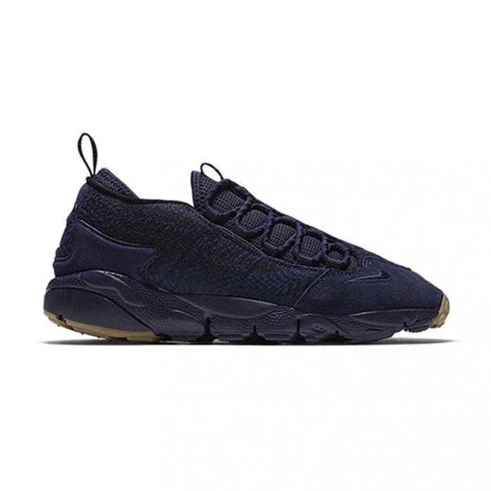 Мужские кроссовки Nike Air Footscape NM Premium Jacquard - Indigo/Obsidian/Gum Dark Brown | Интернет-магазин Sole