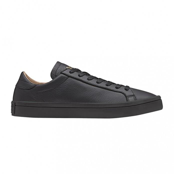 Мужские кроссовки adidas Court Vantage - Core Black/Core Black/Supplier Colour | Интернет-магазин Sole