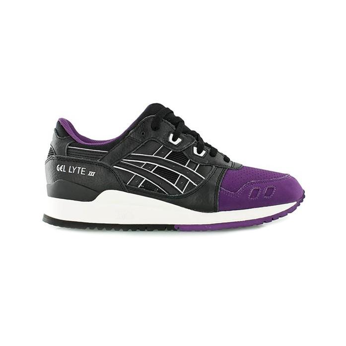 Мужские кроссовки Asics Gel Lyte III - Purple/Black | Интернет-магазин Sole