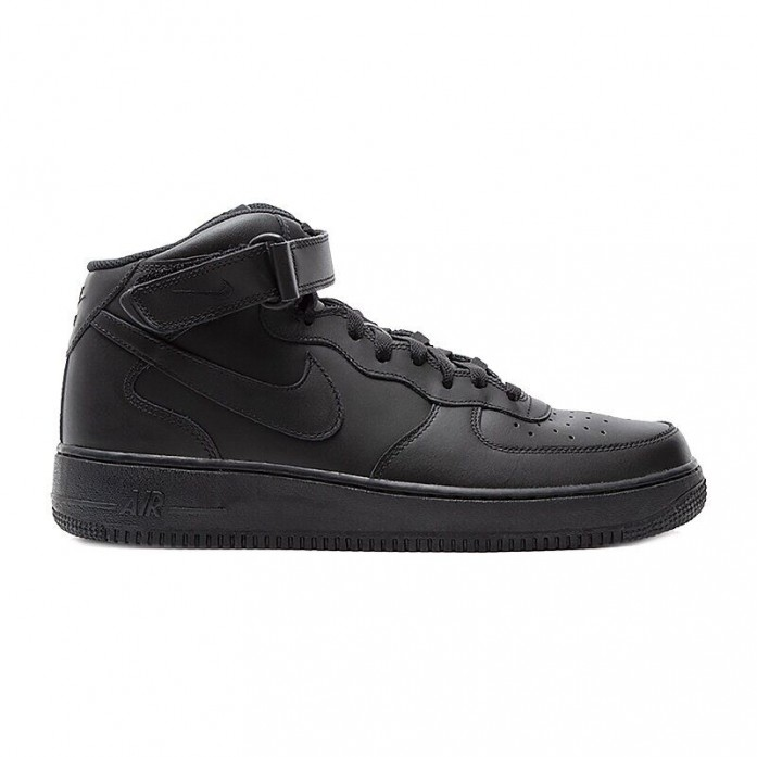 Nike Air Force 1 Mid 07' - Black/Black-Black | Интернет-магазин Sole