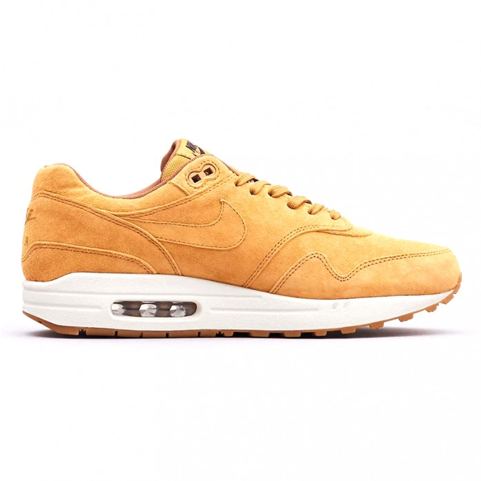 Nike Air Max 1 Premium - Wheat/Wheat/Gum Light Brown | Интернет-магазин Sole