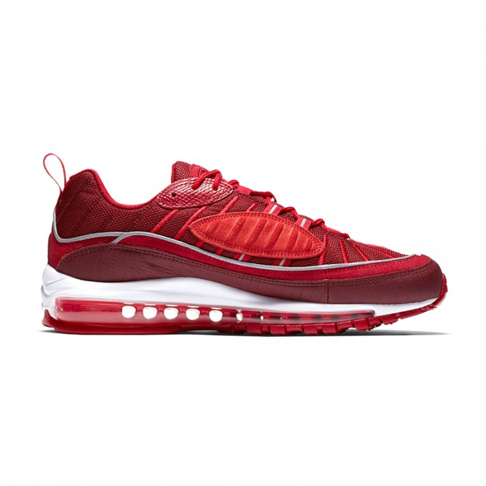 Мужские кроссовки Nike Air Max 98 SE - Team Red/Habanero Red/Gym Red/White | Интернет-магазин Sole