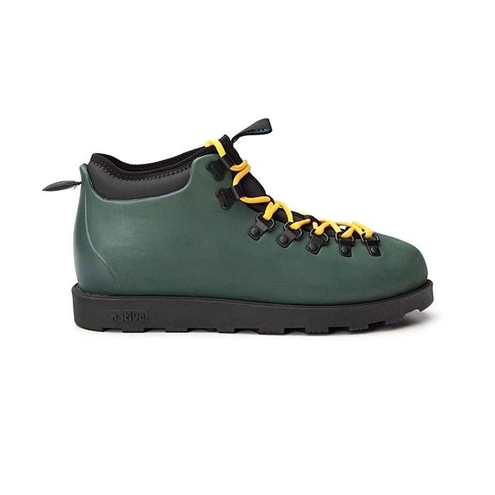 Ботинки Native Fitzsimmons Citylite - Spooky Green / Jiffy Black | Интернет-магазин Sole