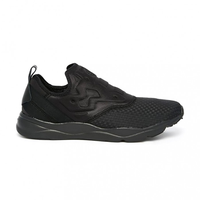Мужские кроссовки Reebok Furylite Slip-On WW - Black | Интернет-магазин Sole