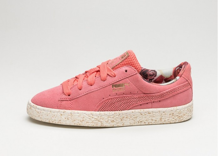Мужские кроссовки Puma x Careaux Suede (Porcelain Rose / Whisper White) | Интернет-магазин Sole