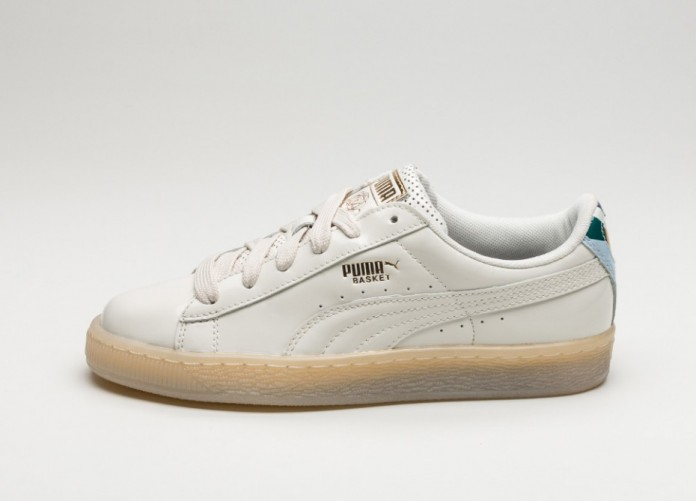 Мужские кроссовки Puma x Careaux Basket (Whisper White) | Интернет-магазин Sole