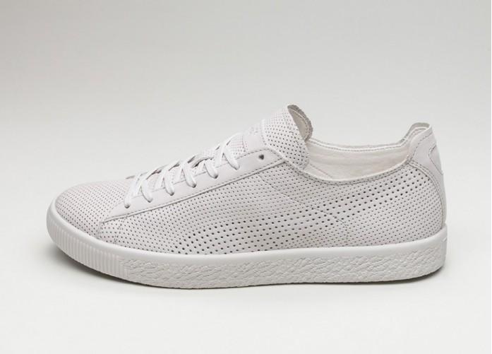 Мужские кроссовки Puma x Stampd Clyde (Whisper White / Whisper White) | Интернет-магазин Sole