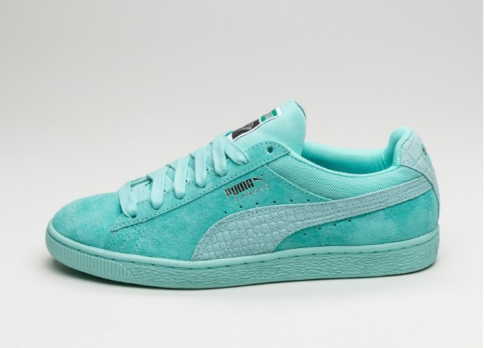 Мужские кроссовки Puma x Diamond Supply Classic Suede (Aruba Blue / Aruba Blue) | Интернет-магазин Sole