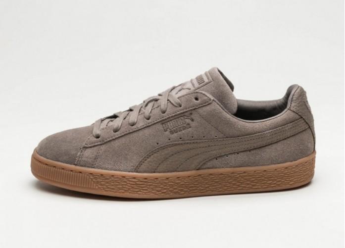 Мужские кроссовки Puma Suede Classic Natural Warmth (Falcon / Falcon) | Интернет-магазин Sole