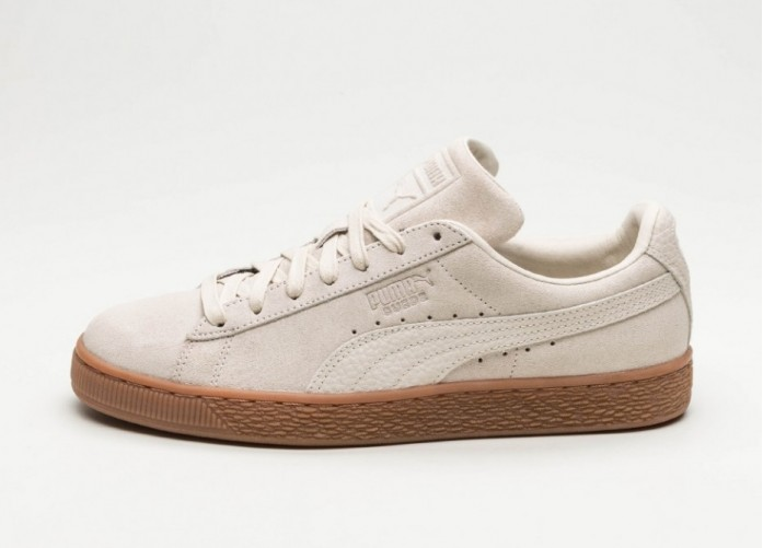 Мужские кроссовки Puma Suede Classic Natural Warmth (Birch / Birch) | Интернет-магазин Sole