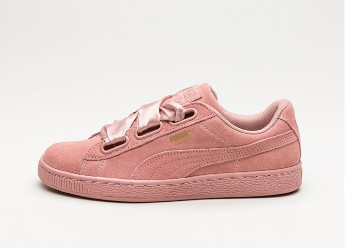 Мужские кроссовки Puma Suede Heart Satin II (Cameo Brown / Cameo Brown) | Интернет-магазин Sole