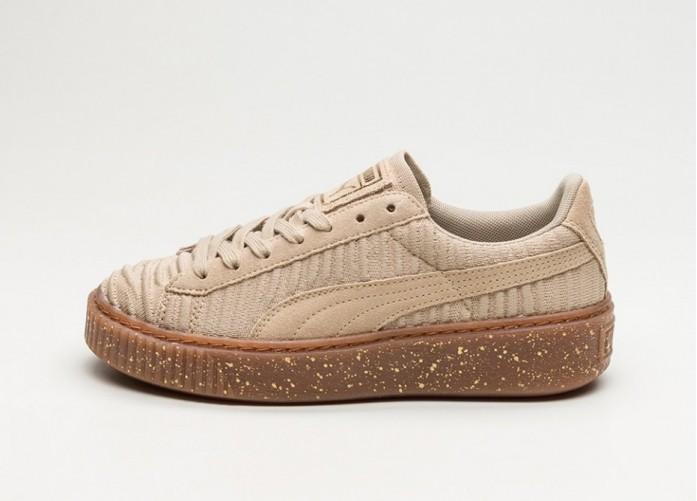Мужские кроссовки Puma Basket Platform OW (Safari / Safari / Whisper White) | Интернет-магазин Sole