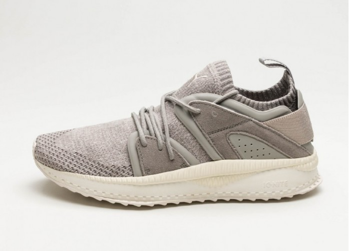Мужские кроссовки Puma Tsugi Blaze Evoknit (Rock Ridge / Birch / Whisper White) | Интернет-магазин Sole