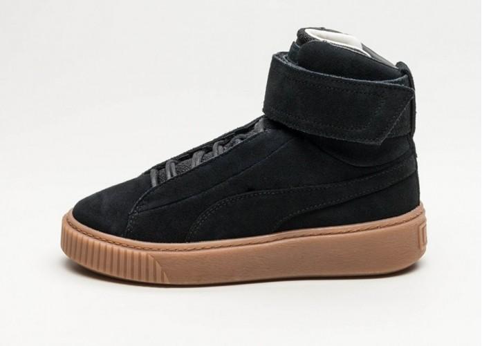 Мужские кроссовки Puma Platform Mid OW (Puma Black / Puma Black) | Интернет-магазин Sole