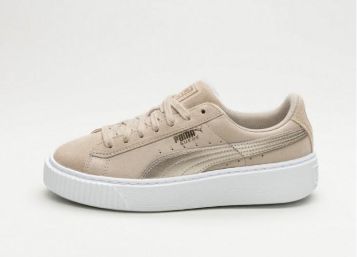 Мужские кроссовки Puma Suede Platform Safari (Safari / Safari) | Интернет-магазин Sole