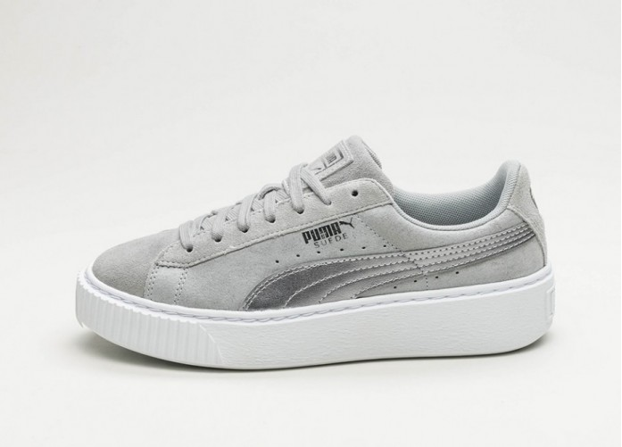 Мужские кроссовки Puma Suede Platform Safari (Quarry / Quarry) | Интернет-магазин Sole