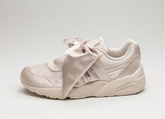 Мужские кроссовки Puma x Fenty Bow Sneaker (Pink Tint / Pink Tint / Pink Tint) | Интернет-магазин Sole