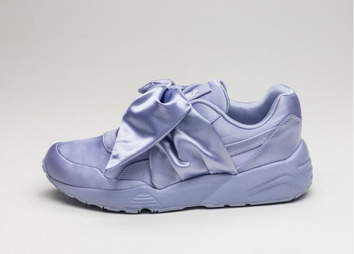 Мужские кроссовки Puma x Fenty Bow Sneaker (Sweet Lavender / Sweet Lavender / Sweet Lavender)   Интернет-магазин Sole