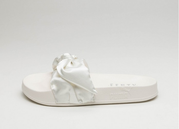 Мужские кроссовки Puma x Fenty Bow Slide (Marshmallow / Puma Silver) | Интернет-магазин Sole
